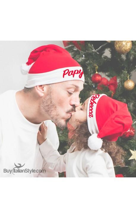 Customizable FATHER CHRISTMAS hat
