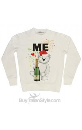 New Year's Eve round neck men's sweatshirt