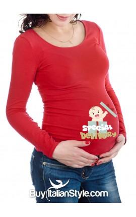"Maternity t-shirt ""best gift ever"""