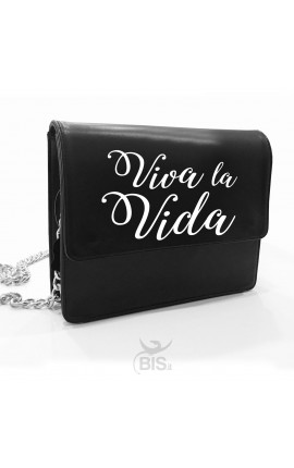 """Leather Shoulder Bag """"Viva la Vida"""""""