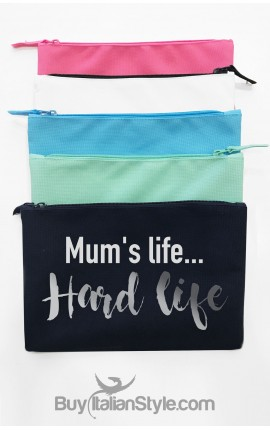 Pochette tela Che fatica la vita da mamma