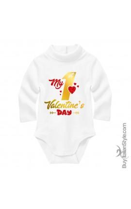 Body Lupetto neonato Primo san valentino