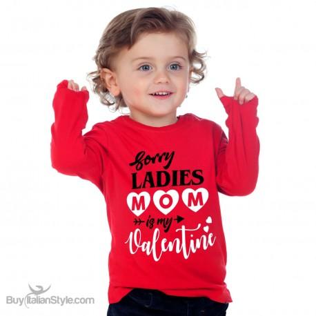"Long sleeve t-shirt""Merry KissMas"""
