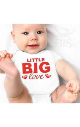 "Baby Bodysuit ""Little Big Love"""