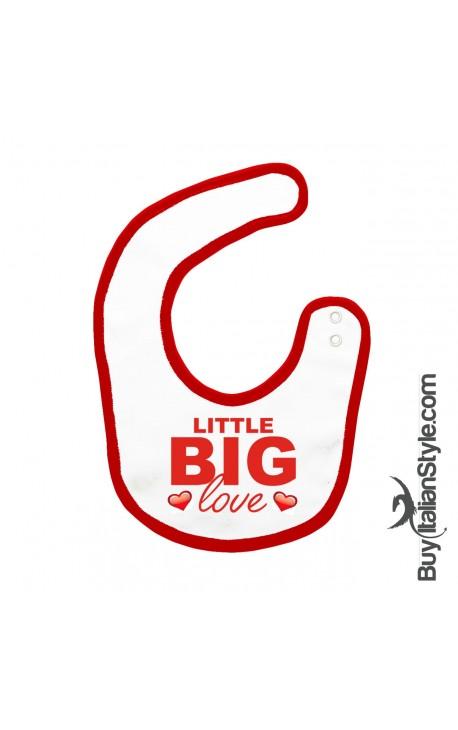 "Baby Bib ""Little Big Love"""