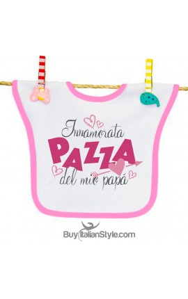 Customizable bib with name