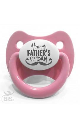 Succhietto trendy bimba Happy father's day