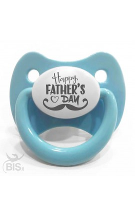 Customizable baby boy crown pacifier with name