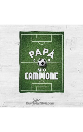 """Plaid """"Papà sei il mio campione!"""""""