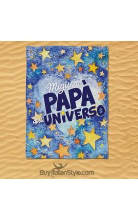 """Telo mare """"Miglior papà dell'universo"""""""