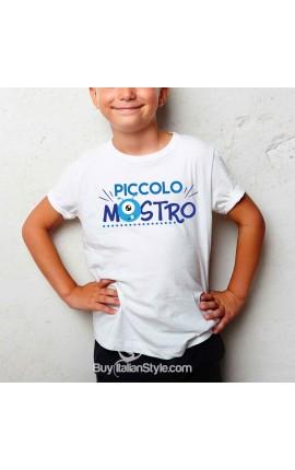 """T-shirt bimbo """"Piccolo mostro"""""""