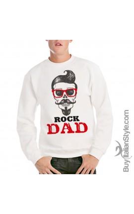Felpa uomo Rock dad