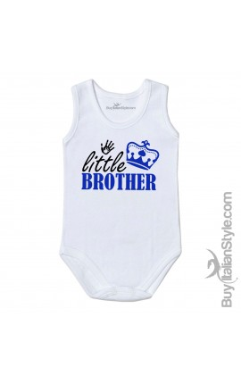 "Baby Bodysuit ""Little Brother"""