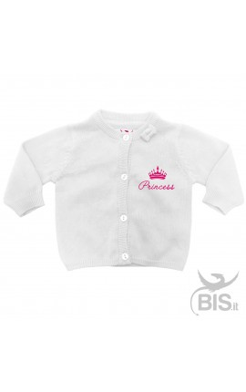 "Cardigan in filo ""Princess"""