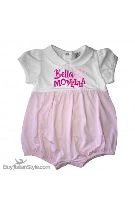 """Pagliaccetto bi-colore """"Bella & Monella"""""""