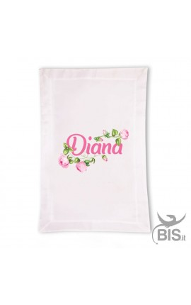 """ROSE"" Summer Blanket - Personalized with name"