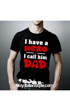 "Adult T-shirt ""The girl who stoke my heart calls me daddy"""