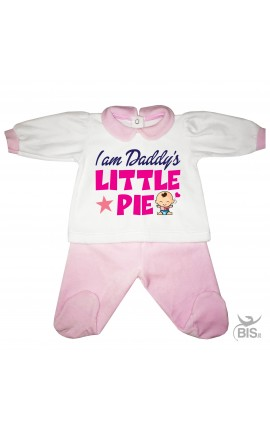 "Chenille baby set"" DADDY'S LITTLE MEATBALL"""