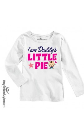 "BABY GIRL'S TEE ""I'm Daddy's Little Pie"""
