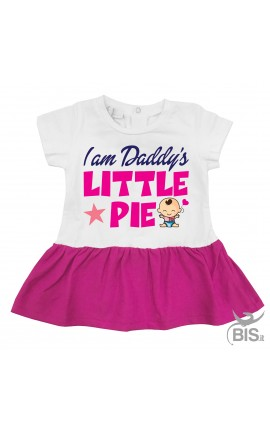 "Baby girl dress ""This girl loves her dad"""