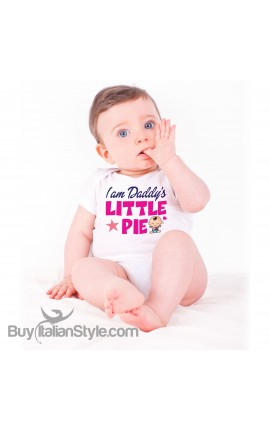 "Baby Bodysuit "" I am Daddy's Little Pie"""