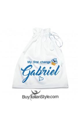"""First change bag """"cupcake"""""""