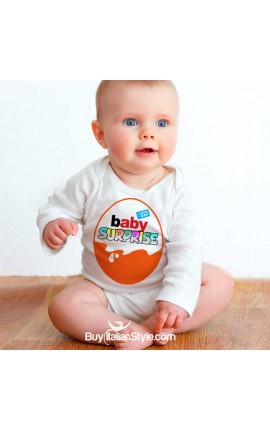 "Bodysuit "" Baby Surprise"""