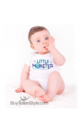 "Baby Bodysuit ""Little Monster"""