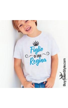 """T-shirt bimbo """"Figlio di una Regina"""""""