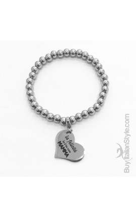 "Bracelet ""Happiness is... ...My Mum"""