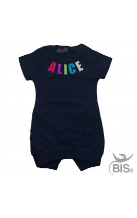 Personalized Children's Dress with Print