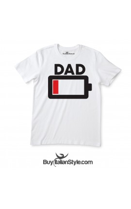 Men's T-Shirt Low Battery DAD