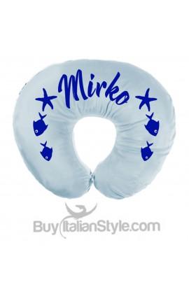 "Personalized Nursing Pillow Layette ""Rose"""