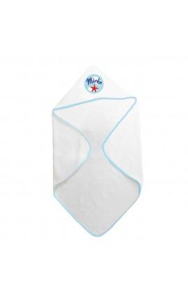 Accappatoio neonato personalizzabile kit pesciolino