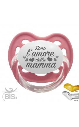 """Ciuccio love """"Sono l'amore della mamma"""""""