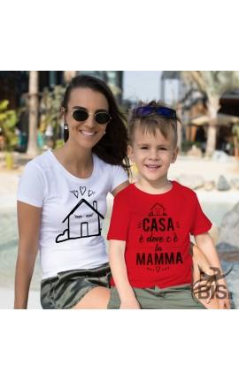 T-shirt donna festa mamma