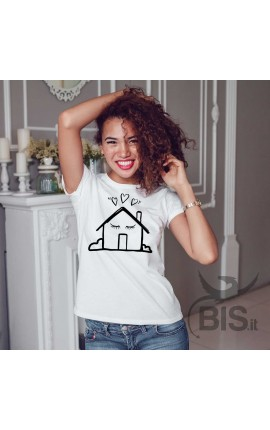"Women's T-Shirt ""HOME is where MUM is"""