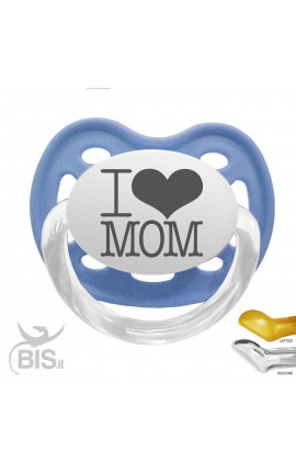 "Personalized Dummy ""I LOVE MOM"""