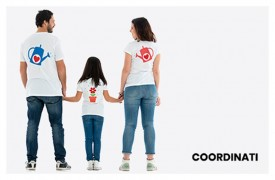 Coordinated mom-son or mom-daughter printed