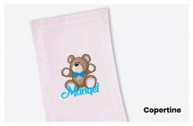 Coperte per corredino neonati