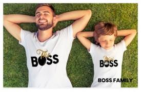 coordinati family a tema boss
