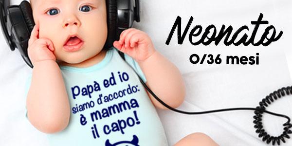 Abbigliamento per neonati con stampe divertenti