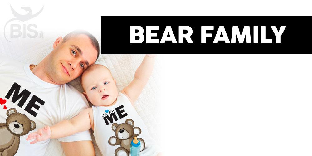 coordinato famiglia orso