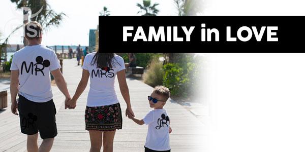 family in love