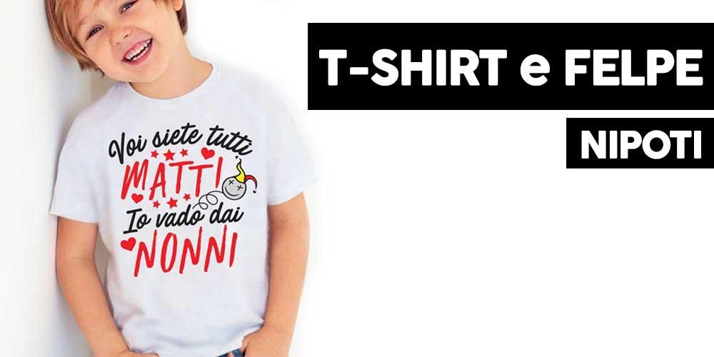 t-shirt e felpe bambini